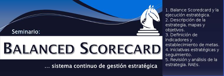 Seminario de Balanced Scorecard